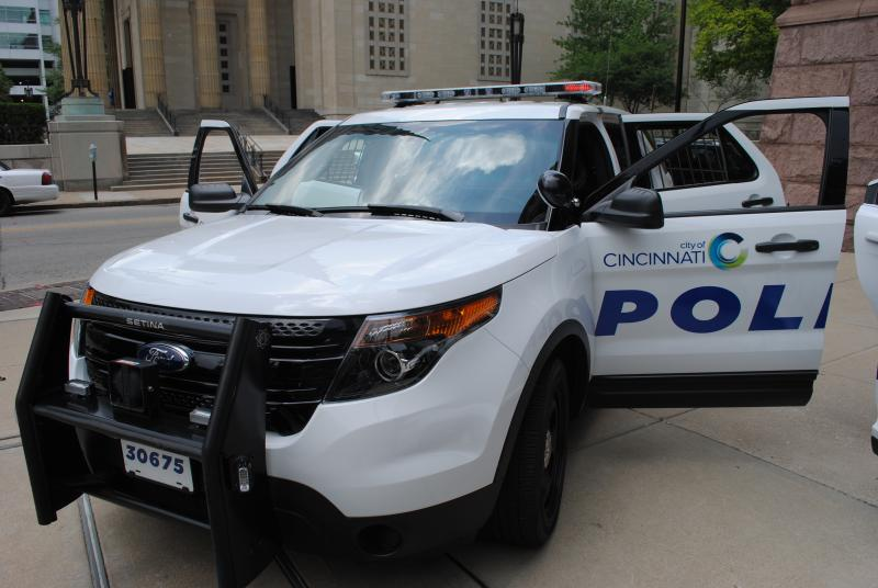 The Police Utility Vehicle is based on the Ford Explorer.