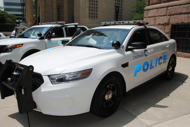 The new police sedan is based on the Ford Taurus.