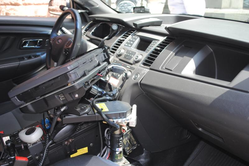Interior of the Interceptor.