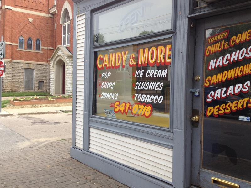 Candy and More in Northside is now closed after police found out it was selling drugs.