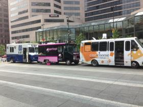 Food trucks are becoming a more common sight in Cincinnati