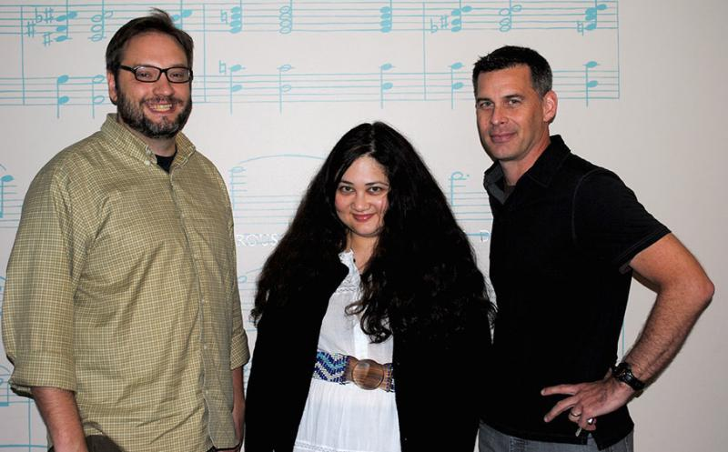 Michael Link, Gabrielle Zevin and Craig Popelars