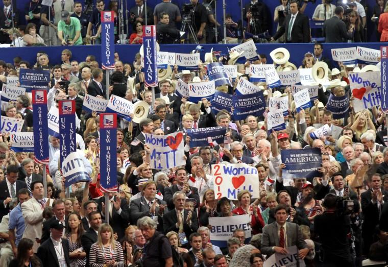 GOP Convention in Tampa, 2012