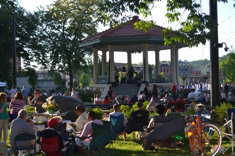 Plenty of opportunities this summer to get out and enjoy music, food and fun at Washinton Park.