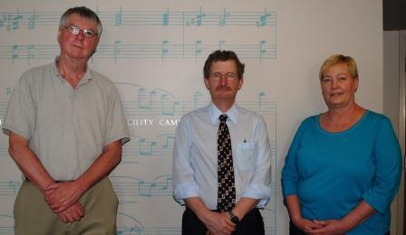 Guests (L-R): William Brohaugh, Jeff Sheldon, Leigh Barnhart Ochs