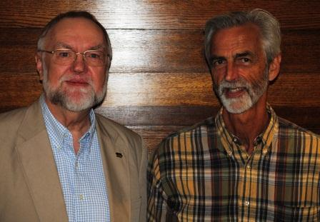 Guests (L-R): Dr. Michael Turney, Dr. Jeffrey Williams