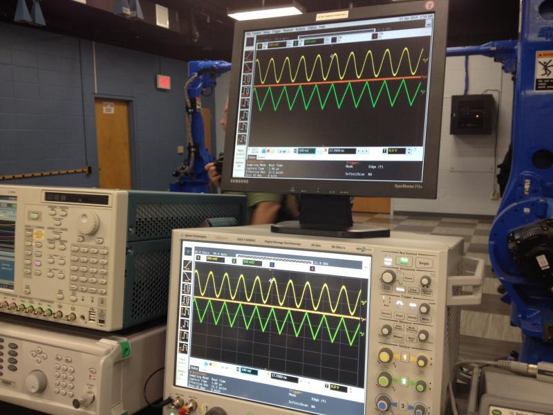 The equipment at the University of Dayton's new Mumma Radar Laboratory was all custom built.