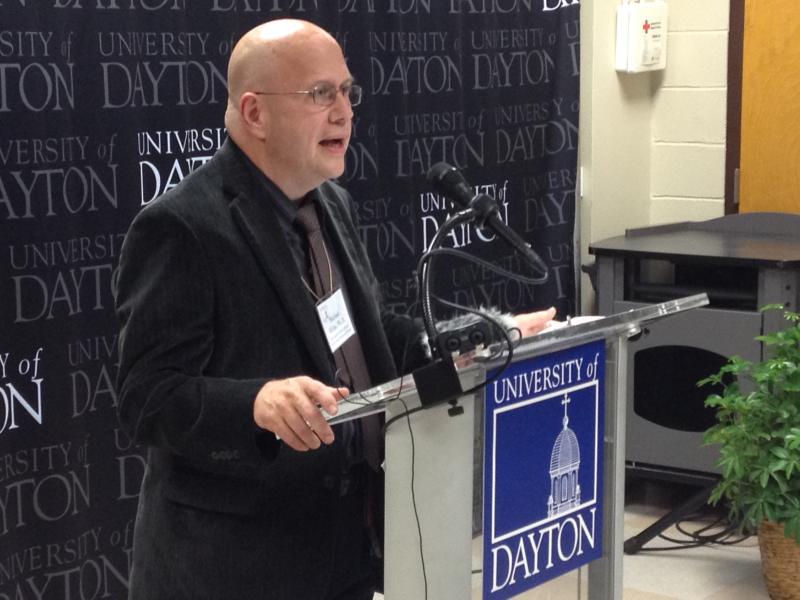 Dr. Michael Wicks, director of the new radar lab