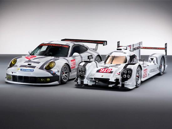 "The Porsche 919 Hybrid Le Mans Challenger race car is in Cincinnati this weekend. However, it is a ""show car"" and without an engine since the ""real"" car is in Europe for testing in advance of a race."