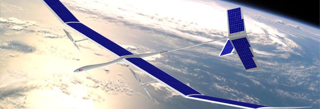 Google bought Titan Aerospace in April. Titan is building jet-sized drones.