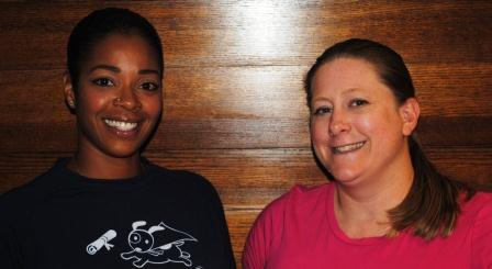 Guests (L-R): Darrah Williams, Katy Blanton