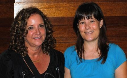 Guests (l-r): Margy Waller, Melissa McVay
