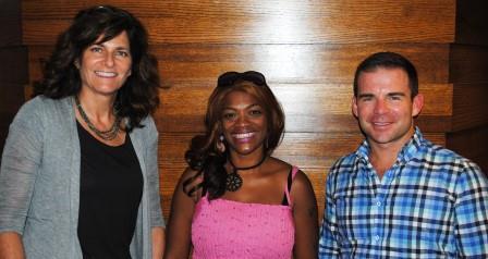 Guests (l-r): Mary Burke Rivers, Jai Washington, Ryan Messer
