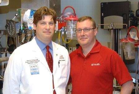 Guests (l-r): Dr. Bryce Robinson, Dr. Jason McMullan