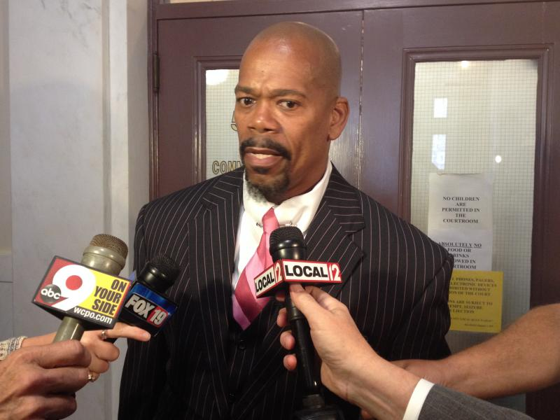 Attorney Clyde Bennett II says his client didn't commit any crimes.