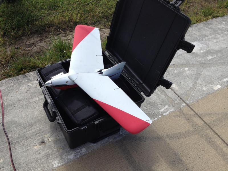 File image of an unmanned aerial system.
