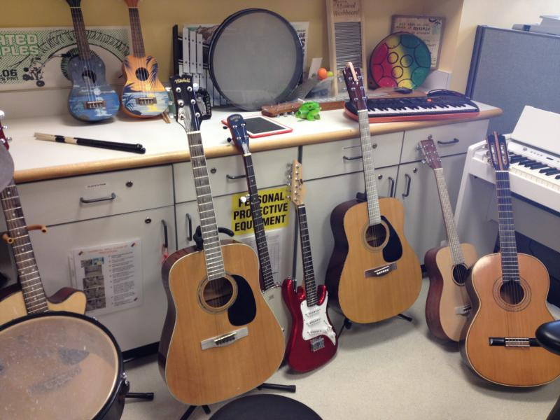 This is the Music Therapy Center at Children's.