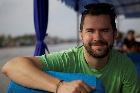 Daniel Klein, co-founder of Perennial Plate and host of Edible Feast, will be at this year's Ohio Valley Greenmarket.