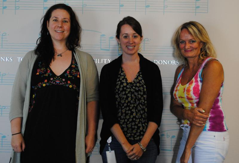 Laura Sabo, Jessica Lorey, and Heidi Yenney