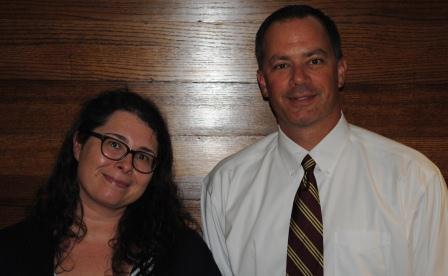 Guests (l-r): Caroline Daley, Kevin Finn