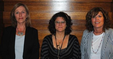 Guests (l-r): Kim Brooks Tandy, Tracy McClorey, Michele Temmel