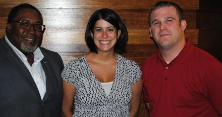 Guests (l-r): Chris Miller, Cori Silbernagel, Richard Cooper
