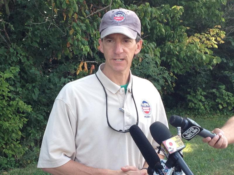 EPA On-Scene Coordinator Steve Renninger