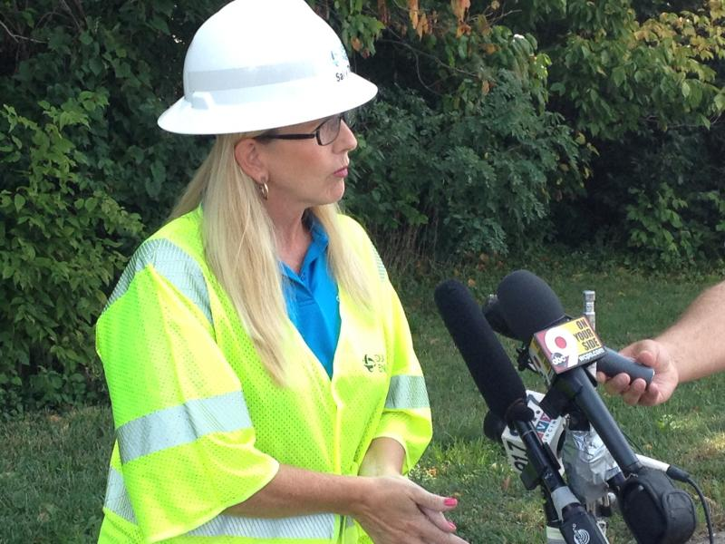Duke Energy's Sally Thelen says rate payers will not be responsible for the cost of the clean up.