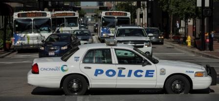 Cincinnati police cruiser