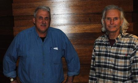 Guests (l-r): David Koester, Peter Huttinger