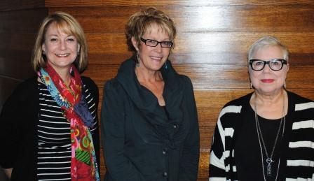 Guests (l-r): Jean Reisinger Coggan, Laurie Lisk Wilson, Margie Voelker Ferrier