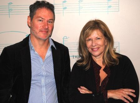 Guests (l-r): Kevin Moore, Mary Ellen Goecke