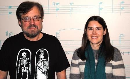 Guests (l-r): Professor Gary Vaughn, Dr. Elizabeth Kiel