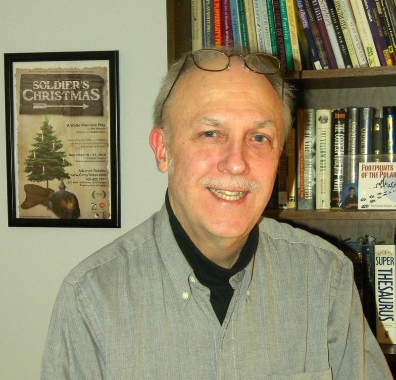Playwright Philip Paradis