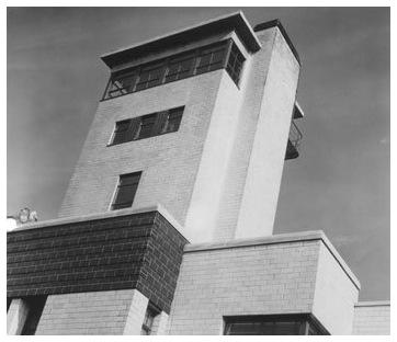 The main tower of the VOA Bethany Station, where armed guards once stood lookout.
