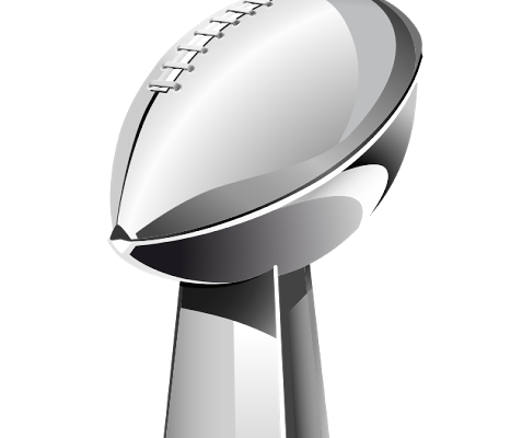 Super Bowl Trophy 2014