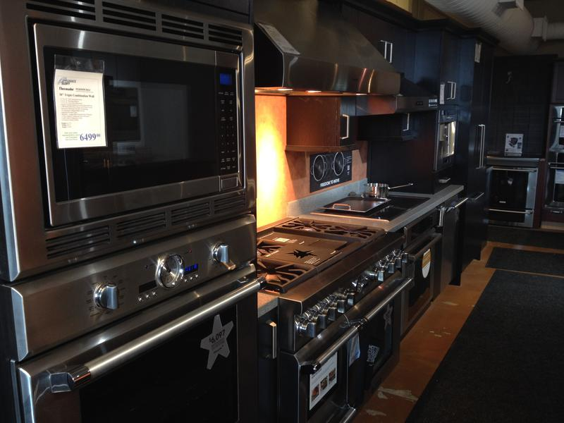 The Appliance Loft in Oakley features a smart oven made by Dacor. You can watch a cooking show on it or listen to music through its speakers.