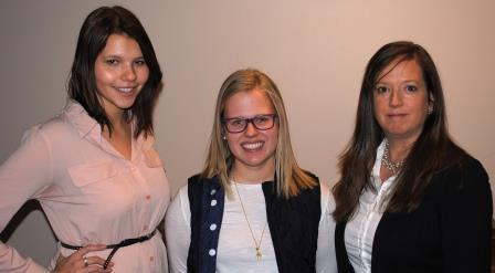 Guests (l-r): Emily Rasmussen, Rachel Hunter-Rinderle, Catherine Allshouse