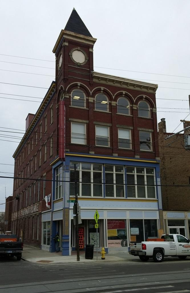 The 130 Year Old Globe Furniture Building At Elm And Findlay