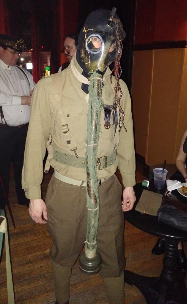Dieselpunk is an offshoot of steampunk that covers the 1930s and 1940s.