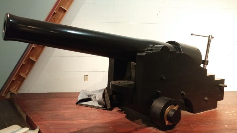 The 30-pounder Parrott Rifle of the Cincinnati Museum Center.