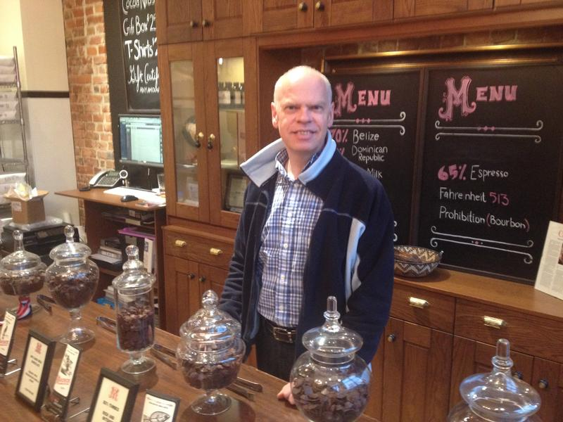 Owner of Maverick Chocolate Co., Paul Picton, plans to use the new kitchen incubator.