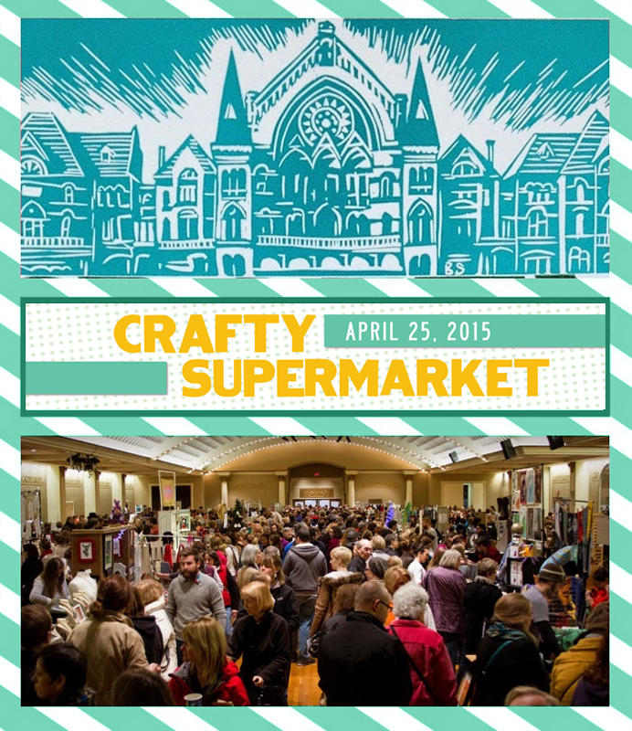 The 2015 Crafty Supermarket is Saturday, April 25 at the Clifton Cultural Arts Center