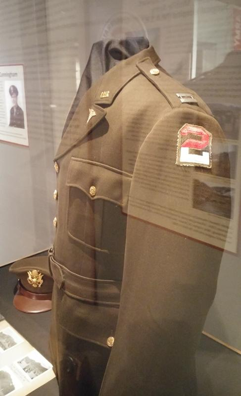 Service coat of Dr. James Stewart, who served as a U.S. Army captain during the Korean conflict.