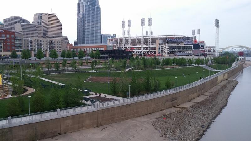 Cincinnati's Smale Park.