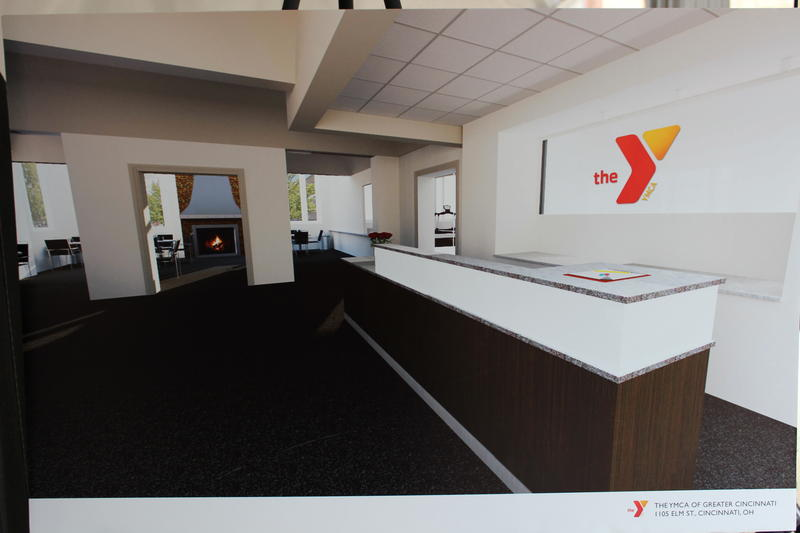 The renovated Y will include a community gathering space in its lobby, designed much like a coffee house.
