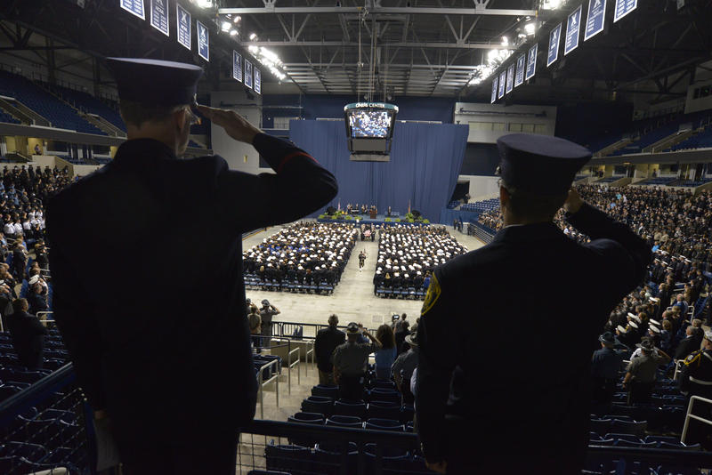 Thousands show up to remember Cincinnati Police Officer Sonny Kim.