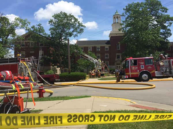 The Oxford Fire Department was called to Swing Hall on Miami University's campus Monday afternoon.