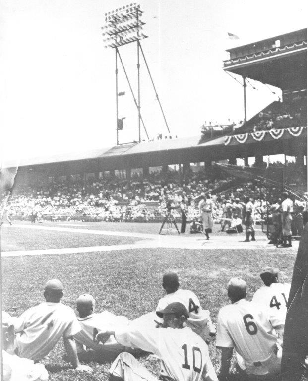 Crosley Field scene from the 1938 All-Star Game