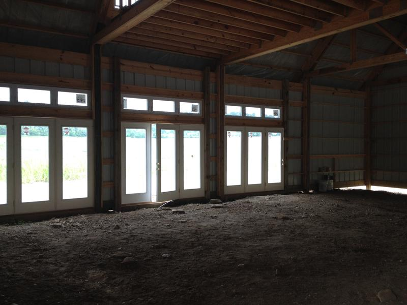A production facility is under construction in Miami Township for the vinegar making process.